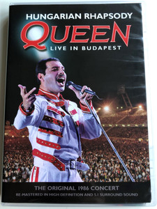 Queen - Live in Budapest DVD Hungarian Rhapsody / The Original 1986 Concert / Re-Mastered in High Definition / Additional Content: A Magic Year -Documentary (602537146215)