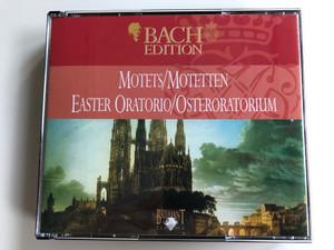 Bach Edition / Motets=Motetten / Easter Oratorio=Osteroratorium / Brilliant Classics 2x Audio CD 1999 / 99361/7, 99361/8