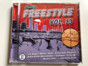 Freestyle Vol. 13 / Incl. Lil Suzy, Roller Jam, Freestyle Project, Julia-Evita Hernandez, Collage, Lisa W., Down Low, and many more / ZYX Music Audio CD 2001 / ZYX 55216-2