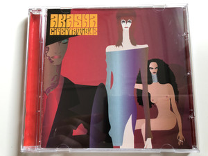Akasha ‎– Cinematique / Wall Of Sound ‎Audio CD 1998 / WALL CD016