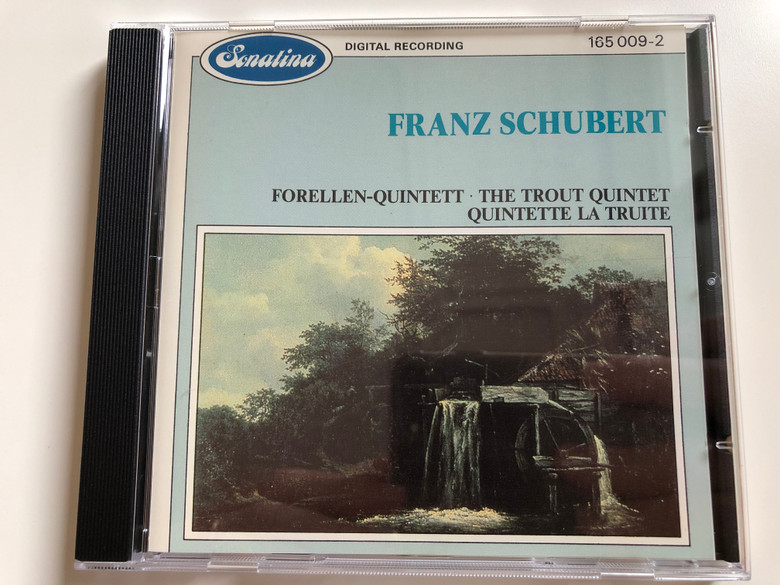 Franz Schubert – Forellen-Quintett, The Trout Quintet, Quintette La Truite / Sonatina Audio CD 1986 Stereo / 165 009-2