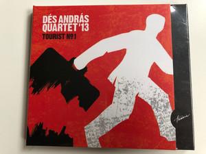 Dés András Quartet'13 – Tourist No. 1 / Hunnia Records & Film Production Audio CD 2014 / HRCD 1401