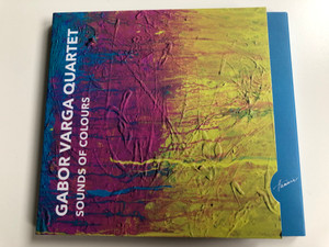 Gabor Varga Quartet - Sound's Of Colours / Hunnia Records & Film Production Audio CD 2018 / HRCD1816