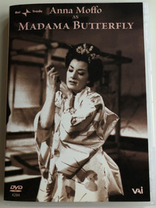 Anna Moffo as Madama Butterfly DVD 1956 Opera in Three Acts / Directed by Mario Lanfranchi / Music by Giacomo Puccini / Orchestra and Chorus Radiotelevisione Italiana Milano / Conducted by Oliviero De Fabritiis (089948428497)