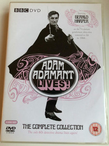 Adam Adamant Lives! - The Complete Collection BBC DVD 5 Disc Set / The cult 60s detective drama lives again! / Directed by David Sullivan Proudfoot, Philip Dudley, Moira Armstrong, Ridley Scott / Starring: Gerald Harper, Juliet Harmer, Jack May (5014503147921)