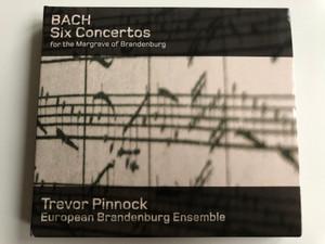 Bach – Six Concertos For The Margrave Of Brandenburg / Trevor Pinnock, European Brandenburg Ensemble / Avie Records 2x Audio CD 2007 Stereo / AV 2119
