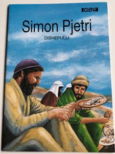 Simon Pjetri Dishepulli by Carine Mackenzie / Albanian edition of Simon Peter the disciple / Gute Botschaft Verlag 1999 / GBV 14814 (GBV14814)