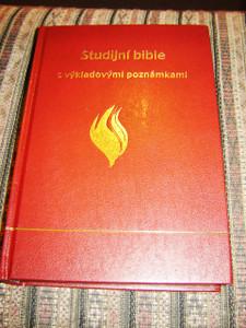 Czech Full Life Study Bible / Studijni Bible s Vykladovymi Poznamkami / Pismo Svate Stareho A Noveho Zakona