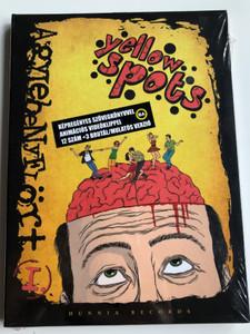 Yellow spots - Agylebenyflört I. Audio CD 2012 w/ Multimedia / Képregényes szövegkönyvvel - Animációs Videóklippel 12 szám + 3 brutál / mulatós verzió / Hunnia Records (5999883042823)