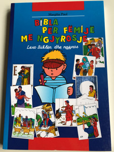 Bibla Per Femije me ngjyrosje by Margitta Paul / Lexo Biblen dhe ngjyros / Albanian edition of Kids Bible Colouring Book / Christliche Verlagsgesellschaft 2014 / Illustrations by Eberhard Plutte, Cornelia Gerhardt (9783863530532)