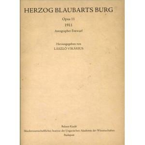 Herzog Blaubarts Burg (1911) by Bartók Béla / Balassi Kiadó / Kékszakállú herceg vára / Hardcover (9789635066896x)
