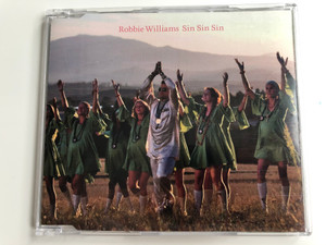 Robbie Williams ‎– Sin Sin Sin / Chrysalis ‎Audio CD 2006 / 094636655628