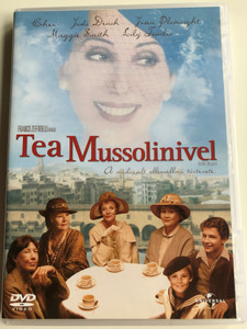 Tea with Mussolini DVD 1998 Tea Mussolinivel / Directed by Franco Zeffirelli / Starring: Cher, Judi Dench, Joan Plowright, Maggie Smith, Lily Tomlin (5996051041152)