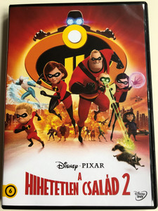 The Incredibles 2 DVD 2018 A Hihetetlen család 2 / Directed by Brad Bird / Starring: Craig T. Nelson, Holly Hunter, Sarah Vowell, Huckleberry Milner (5996514050448)