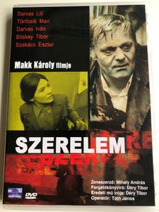 Szerelem DVD 1970 Love / Directed by Makk Károly / Starring: Darvas Lili, Törőcsik Mari, Darvas Iván, Bitskey Tibor (5996357312574)