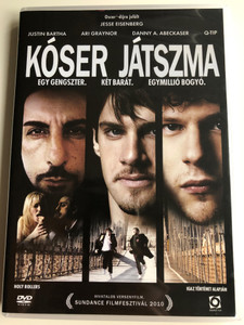 Holly Rollers DVD 2010 Kóser játszma / Directed by Kevin Asch / Starring: Jesse Eisenberg, Justin Bartha, Ari Graynor, Danny A. Abeckaser, Q-Tip (5999544259706)