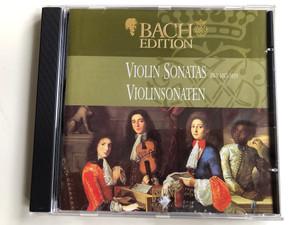 Bach Edition / Violin Sonatas BWV 1017-1019 = Violinsonaten / Brilliant Classics Audio CD / 99375/12Bach Edition / Violin Sonatas BWV 1017-1019 = Violinsonaten / Brilliant Classics Audio CD / 99375/12