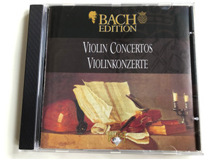 Bach Edition / Violin Concertos = Violinkonzerte / Brilliant Classics ‎Audio CD / 99360/5