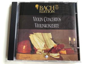 Bach Edition / Violin Concertos = Violinkonzerte / Brilliant Classics Audio CD / 99360/5