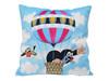 Little Mole Pillow 30x30cm - balloon - Polstar Krtek, balón / Kissen Maulwurf, Ballon / Krteček decorative pillow for boys and girls / Kisvakond a léghajón Párna 99915P (8590121504348)