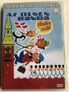 Olsen Banden Gar i Krig DVD 1978 Az Olsen banda Hadba száll (The Olson Gang Goes to War) / Directed by Erik Balling / Starring: Ove Sprogøe, Morten Grunwald, Poul Bundgaard, Kirsten Walther, Axel Strøbye (5996473001215)