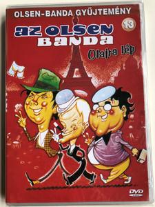 Olsen Banden Over Alle Bjerge DVD 1981 Az Olsen banda olajra lép / Directed by Erik Balling / Starring: Ove Sprogøe, Morten Grunwald, Poul Bundgaard / The Olsen Gang Long Gone (5996473001819)