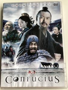 Confucius DVD 2010 Kong Zi (孔子) / Directed by Mei Hu / Starring: Chow Yun Fat, Zhou Xun, Chen Jianbin, Ren Quan, Lu Yi (5996473010880)