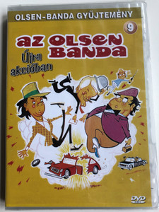 Olsen Banden Deruda DVD 1977 Az Olsen banda újra akcióban / Directed by Erik Balling / Starring: Ove Sprogøe, Morten Grunwald, Poul Bundgaard / The Olsen Gang Outta Sight (5996473001208)