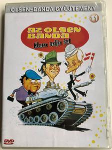 Olsen banden Overgiver sig DVD 1979 Az Olsen banda - Nem adja fel / Directed by Erik Balling / Starring: Ove Sprogøe, Morten Grunwald, Poul Bundgaard / Olsen banda gyűjtemény 11 (5996473001222)