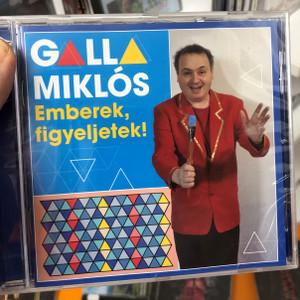 Galla Miklós – Emberek, Figyeljetek! / GrundRecords Audio CD 2019 / GR139