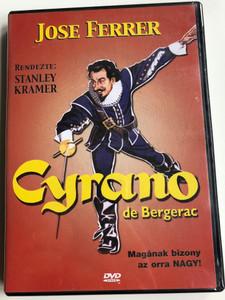 Cyrano de Bergerac DVD 1950 / Directed by Michael Gordon / Starring: Jose Ferrer, Mala Powers, Morris Carnovsky (5990502068859)