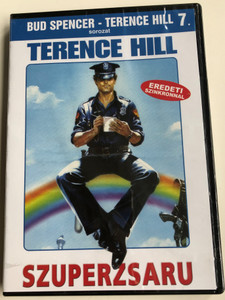 Super Snooper DVD 1980 Szuperzsaru (Poliziotto superpiù) / Directed by Sergio Corbucci / Starring: Terence Hill, Ernest Borgnine, Joanne Dru, Julie Gordon / Bud Spencer - Terence Hill sorozat 7. (5999544560932)