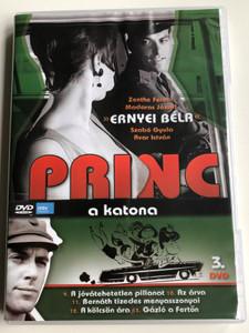 Princ a katona Vol 3. DVD 1966 / Classic Hungarian TV Series / Directed by Fejér Tamás / Starring: Ernyey Béla, Zenthe Ferenc, Dávid Kiss Ferenc, Madaras József / 5 episodes on disc (5999883108482)