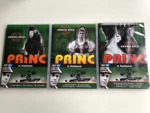 Princ a katona - Classic Hungarian TV Series DVD SET 1966 Volumes 1-3. / Directed by Fejér Tamás / Starring: Ernyey Béla, Zenthe Ferenc, Dávid Kiss Ferenc, Madaras József / 13 episodes / 3 DVDs (PrincAKatona-DVDset)
