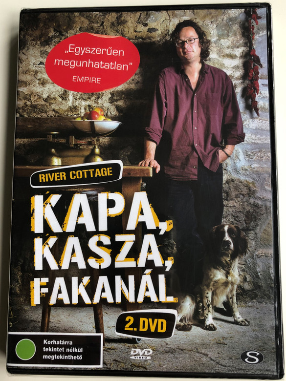 River Cottage Disc 2 DVD 1999 Kapa, Kasza, Fakanál / Directed by Zam Baring, Andrew Palmer, Billy Paulett / Cooking with Hugh Fearnley-Whittingstall / 3 Episodes on Disc / MPR5003 (5990502068033)