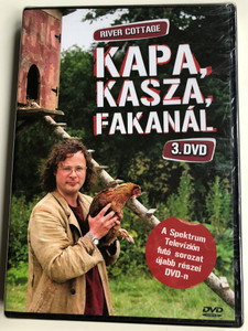 River Cottage Disc 3 DVD 1999 Kapa, kasza, fakanál / Directed by Zam Baring, Andrew Palmer, Billy Paulett / Cooking with Hugh Fearnley-Whittingstall / 3 Episodes on Disc / ER6052 (5990502068644)