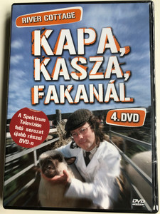 River Cottage Disc 4 DVD 1999 Kapa, kasza, fakanál 4 / Directed by Zam Baring, Andrew Palmer, Billy Paulett / Cooking with Hugh Fearnley-Whittingstall / 3 Episodes on Disc / ER6052 (5990502068651)