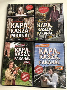 River Cottage Disc 1-4 DVD SET 1999 Kapa, kasza, fakanál 1-4 DVD / Directed by Zam Baring, Andrew Palmer, Billy Paulett / Cooking with Hugh Fearnley-Whittingstall / 12 Episodes 4 Discs (RiverCottageDVDSET)