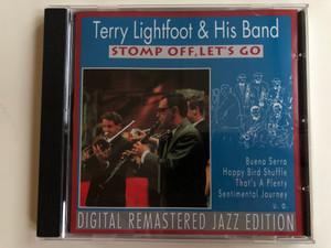 Terry Lightfoot & His Band - Stomp Off, Let's Go / Buena Serra, Happy Bird Shuffle, That's A Plenty, Sentimental Journey, u.a. / Digital Remastered Jazz Edition / Pastels Audio CD 1995 / CD 20.1624
