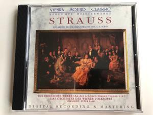 Vienna Sound Classic / Beruhmte Meisterwerke / Strauss - Ein Abend Bei Johann Strauss 1894, J.S. Sohn / Weltberuhmte Werke (An der schonen blauen Donau u.a. / Digital Recording & Mastering / Digital Classic Audio CD Stereo / CD 155.014
