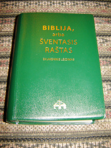 Lithuanian Bible / Ecumenical Edition (DC) Green with Thumb Index