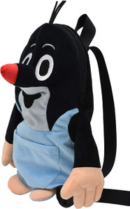 Krtek - Little Mole in pants Backpack for Ages 3+ / Kisvakond hátizsák / Little mole-shaped Rucksack Maulwurf with front pocket / Krteček batoh / 33cm / 99905A (8590121999052)
