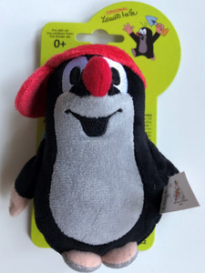 Krtek - Little mole red baseball cap 12cm / Kisvakond piros baseball-sapkás / Maulwurf mit Kappe rot 12 cm / Krteček kšiltovkou červ. / Ages 0+ / 49902D (8590121499026)