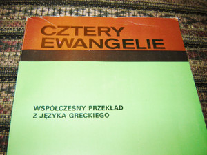 The Four Gospels in Polish with illustrations / Cztery Ewangelie Wspolczesny przeklad z jezyka greckiego / USED LIKE NEW