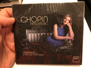 Chopin - Piano Music / Magdalena Prejsnar - piano / DUX Audio CD 2020 / DUX 1645