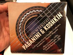Artyom Dervoed - Paganini & Koshkin / La Primavera Kazan Chamber Orchestra, Conductor - Rustem Abyazov / Alexey Lundin - violin, Kirill Semenovykh - viola, Daniil Shavyrin - cello / Мелодия Audio CD 2020 / MEL CD 02638