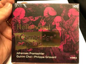 Hellendaal - ''Cambridge'' Sonatas / Johannes Pramsohler, Gulrim Choi, Philippe Grisvard / Audax Records Audio CD 2020 / ADX13720