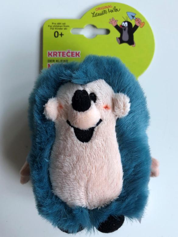Krtek - The Little Mole Hedgehog / Krtek a kamarádi - Ježek 13 cm - Maulwurf und Freunde - Igel / Kisvakond és barátai - Süni / Krteček / Age 0+ / 49905Y (8590121499057)