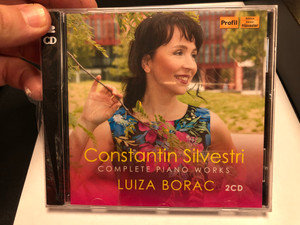 Constantin Silvestri – Complete Piano Works - Luiza Borac ‎/ Profil Edition Günter Hänssler ‎2x Audio CD 2020 / PH20028