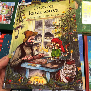 Pettson karácsonya by Sven Nordqvist / Hungarian edition of Pettson far julbesök / General Press könyvkiadó 2020 / Hardcover / Pettson's Christmas (9789634522133)